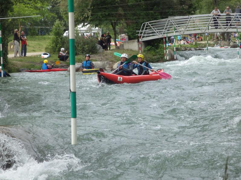 Moutiers canoe kayak week end famille st pierre de boeuf for Aigueblanche piscine
