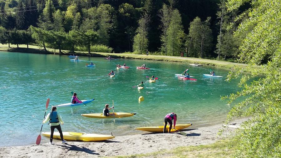 Moutiers canoe kayak scolaire for Aigueblanche piscine